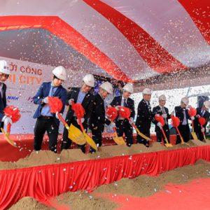 Akari City khởi công xây dựng 6 Block giai đoạn 1